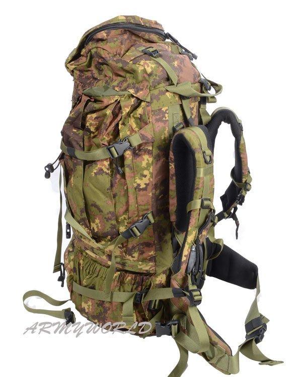 e2bff6e893d Italian Military Backpack Vegetato Original Used · Italian Military  Backpack Vegetato Original Used ...