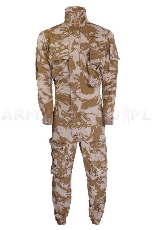 8d2c5c7ccef63 British Army Coveralls Lion Apparel DPM Desert Original military surplus  Used ...