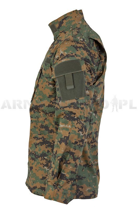 Military Shirt Model Acu Tessar Marpat Digital Woodland
