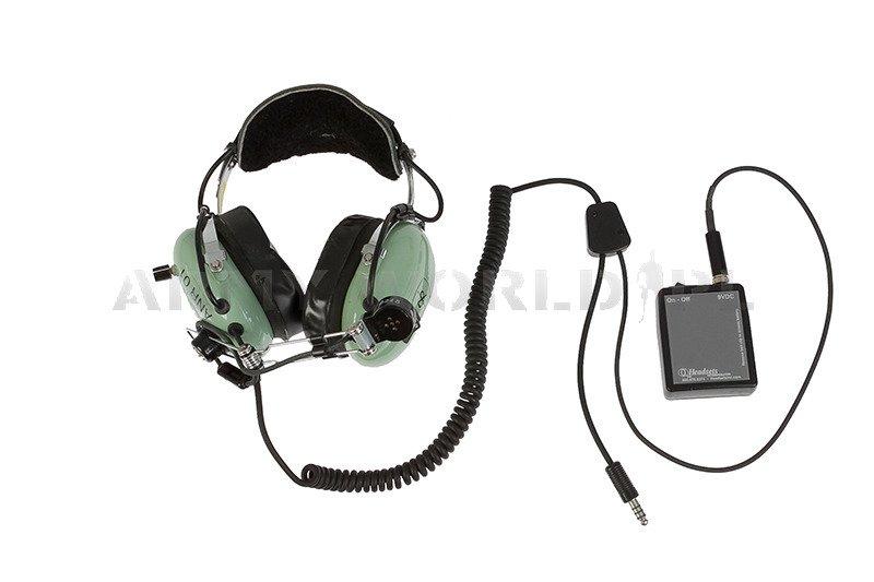 50777e11193 Military Aviation Headset David Clark ANR - Electronic Noise Cancelling  Original Demobil ...