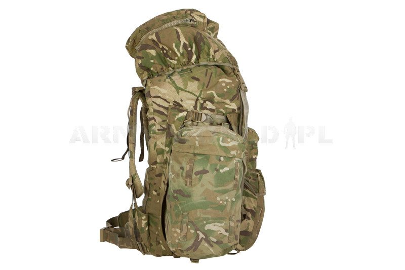 1901285a8d01 ... Military Backpack Long Convoluted Back MTP IRR 120l Original Used NO  SIDE POCKETS ...