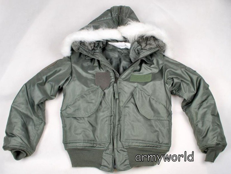717a8483610 Military Jacket CWU Cold Weather 45 P US ARMY Original Demobil ...