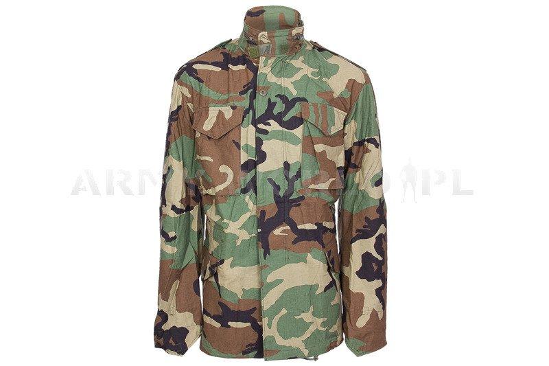 Military Jacket Model M65 US Army Woodland Original New ... 947bba4ff54