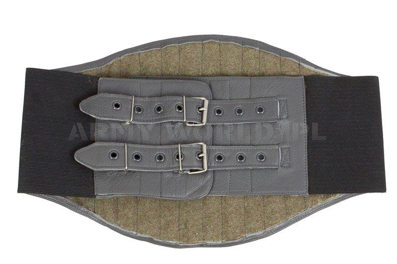 British Army Leather Motorcycle Kidney Belt Original Used