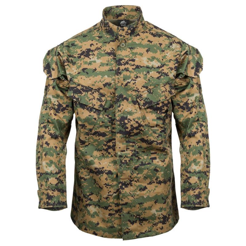 Funsport US Shirt MARPAT Army USMC woodland digital tshirt shirt Medium