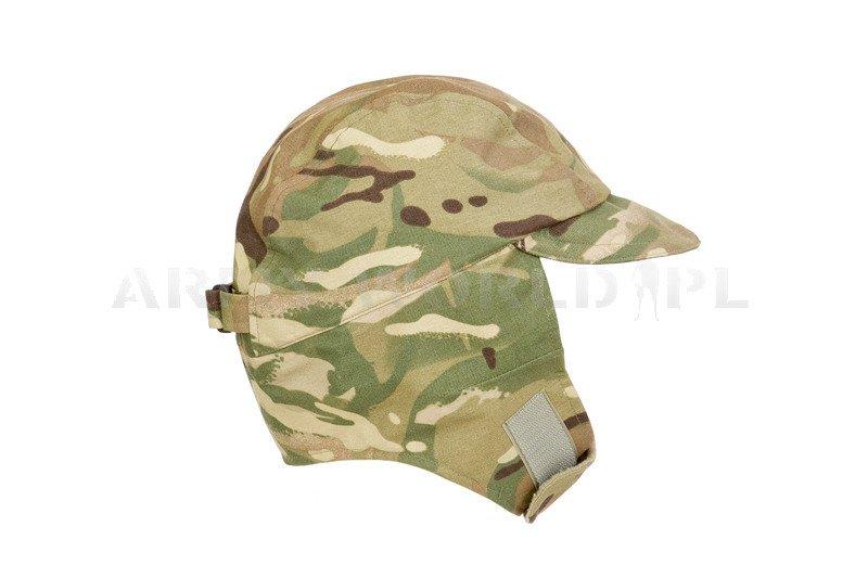 ... Military Waterproof British Ushanka Cap Cold Weather Goretex MTP Used 795ba51ee5a