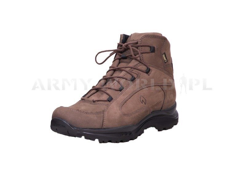5e894632be1 Police Shoes Haix Dakota Mid Gore-tex Brown New II Quality | SHOES ...