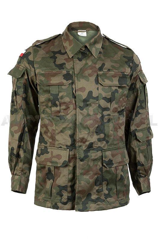Polish Military Uniform Wz 93 127A/MON Set - Shirt + Pants