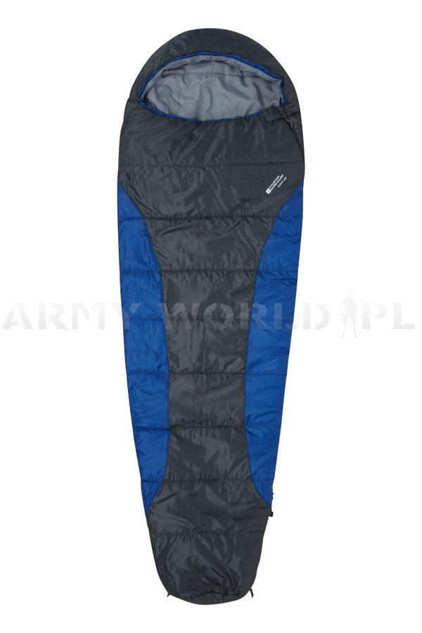 innovative design c23aa 7207f Sleeping Bag Mummy Mountain Warehouse Summit 250 Blue ...