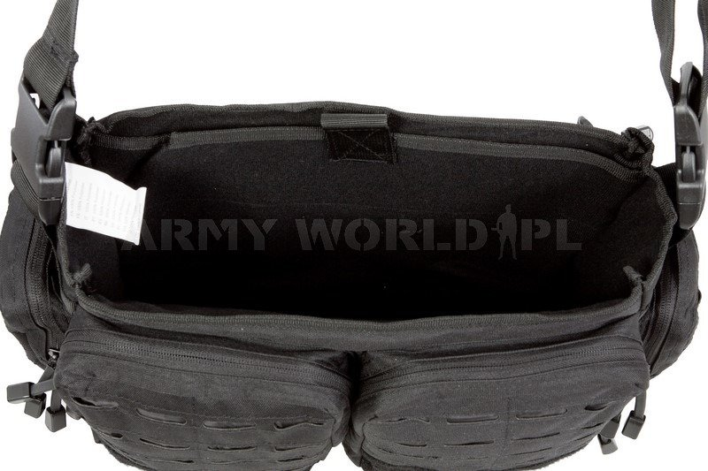 389b590b1089 Tactical Paracord Bag Mil-tec Large Black New czarna