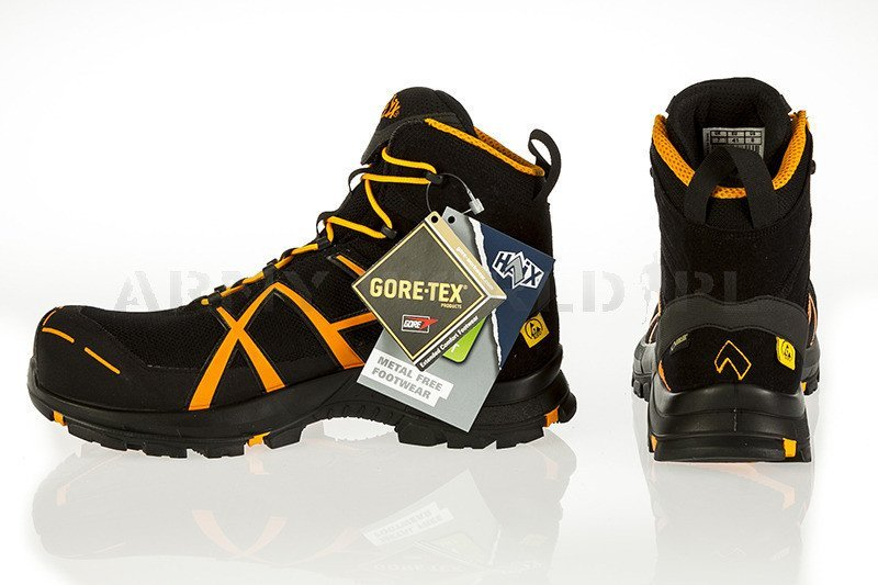 Workwear Boots Haix 174 Black Eagle Safety 40 Mid Gore Tex