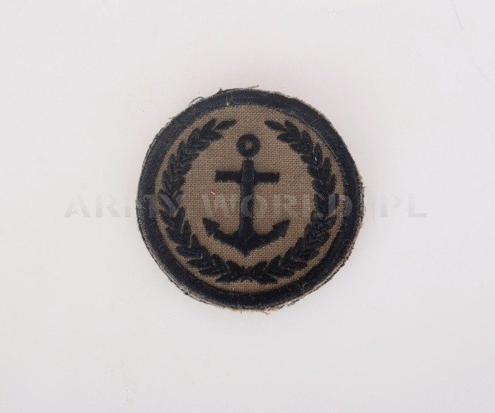 Polish Navy Badge Original Used