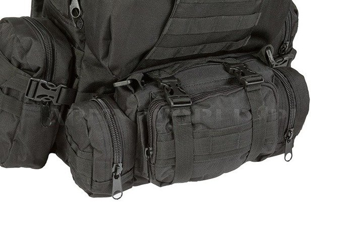 Backpack Mil-tec Defense Pack Assembly 36 Liters Black New