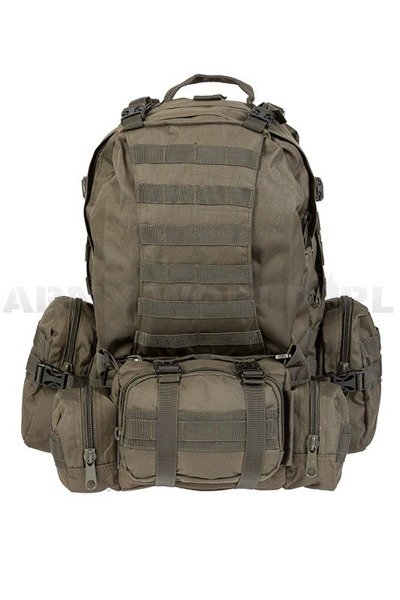 Backpack Mil-tec Defense Pack Assembly 36 Liters Oliv New