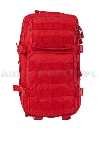 Backpack Model US Assault Pack SM Red for medical services New