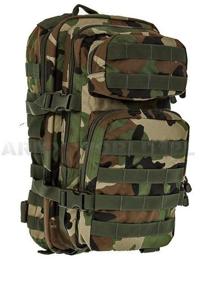Backpack Model US Assault Pack SM Woodland New