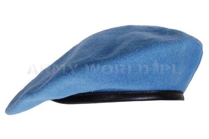 Beret Hassing Blue Military Surplus Used