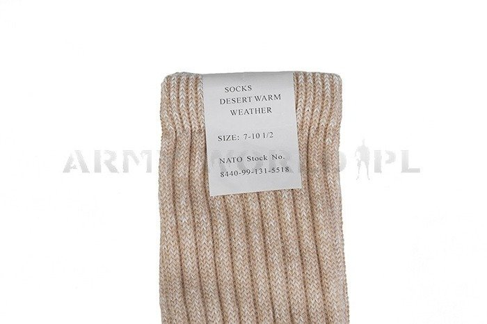 British Military Short Socks Desert Warm Weather Conditions New