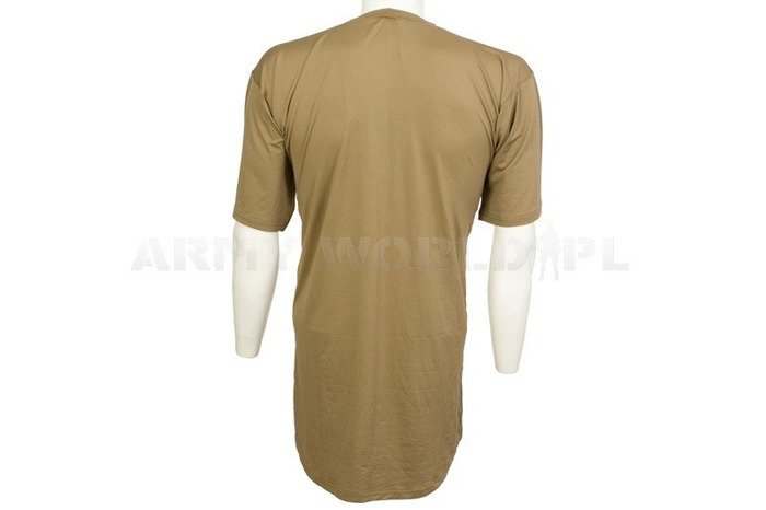 British Thermoactive T-shirt Coolmax Base Layer Lightweight Olive Original New