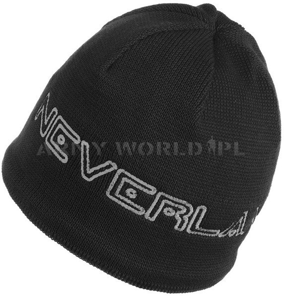 Winter Hat CONDOR Neverland Black-Silver New