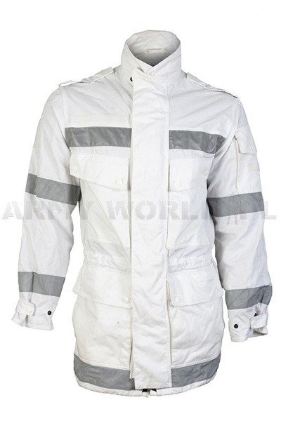 Dutch Parka Jacket  White Original Demobil