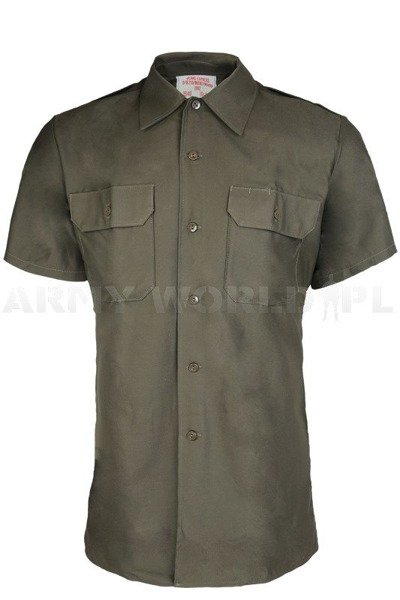 Field Shirt Bundeswehr Olive Genuine Military Surplus New