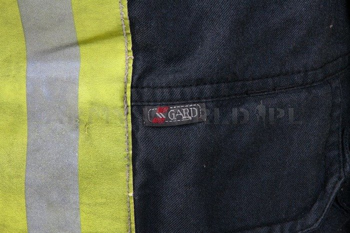 Firefighter Jacket Nomex / Gore-tex Flame-retendant and Waterproof Dutch Original Demobil