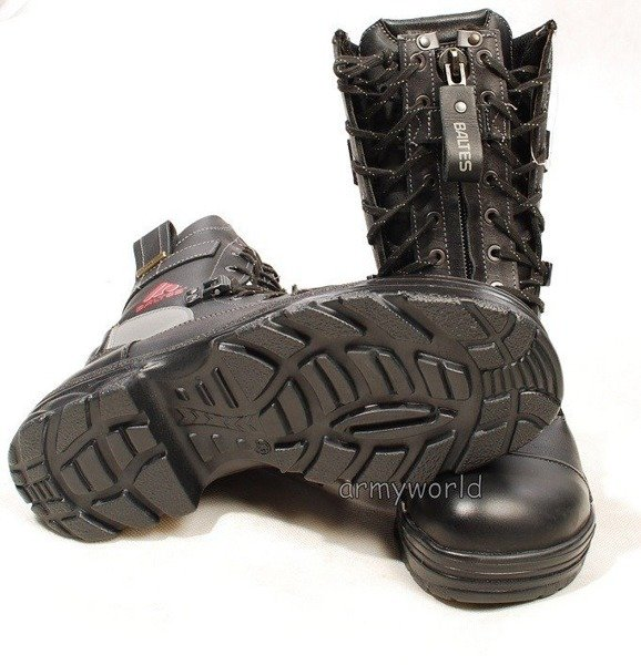 Firefighter Shoes Baltes S3 SYMPATEX With Metal Tips New #2