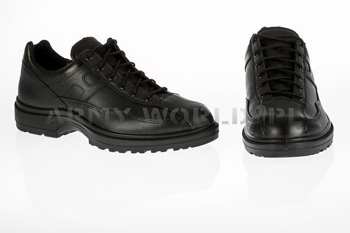 French Police Shoes LOW VERSION Haix Original Black II Quality New