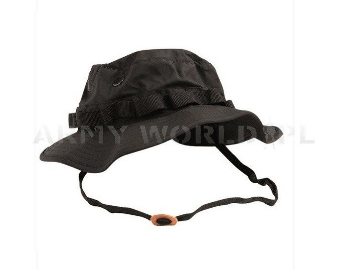 "Hat  ""Boonie Hat""  Waterproof Trilaminat TESSAR.INC Black New"