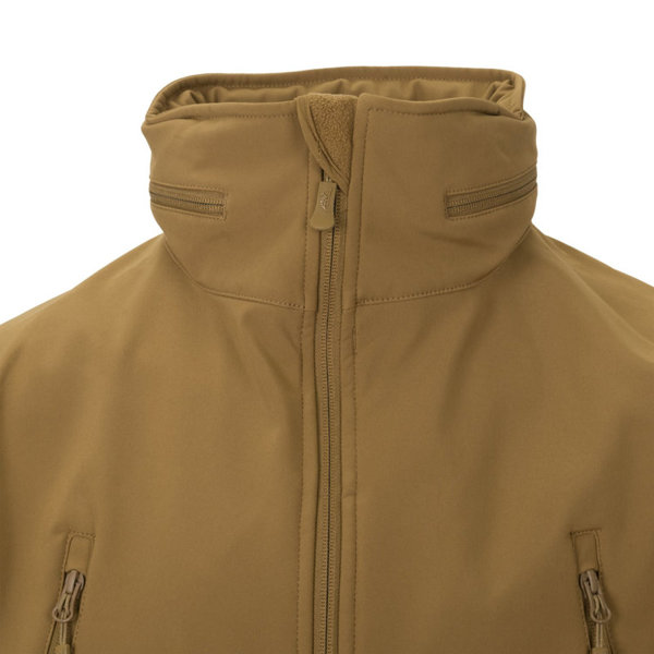 Jacket Helikon-tex Gunfighter Shark Skin Windblocker Mud Brown