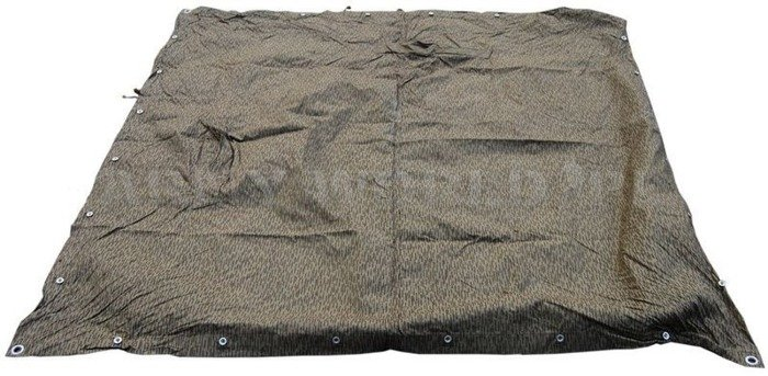 "Lavvu Poncho Shelter ""Deszczyk"" NVA Camo Zeltbahn Genuine Military Surplus Used"
