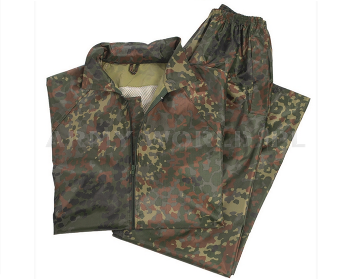 Waterproof Set (Jacket + Pants)  Mil-Tec Flecktarn New