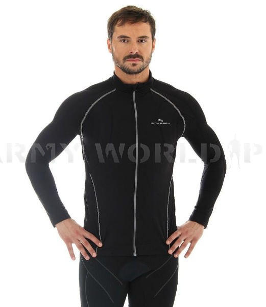 Men Shirt With Membrane Windproof Brubeck Black SALE