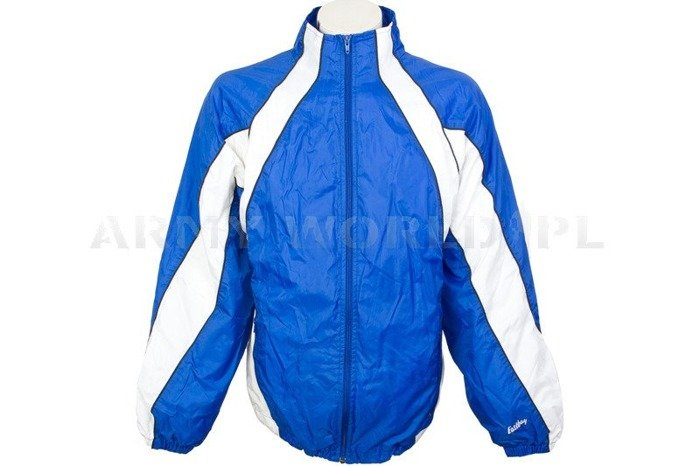 Men's Sport Jacket With Reflection Blue Oryginal Used