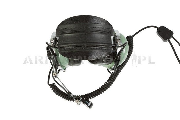 Military Aviation Headset David Clark ANR - Electronic Noise Cancelling Original Demobil