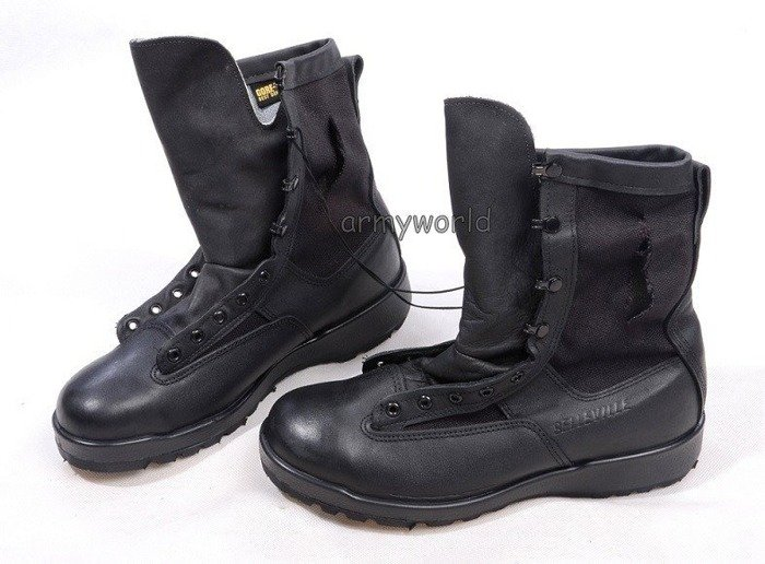 Military Boots Belleville Black Gore-tex Original US Army New II Quality
