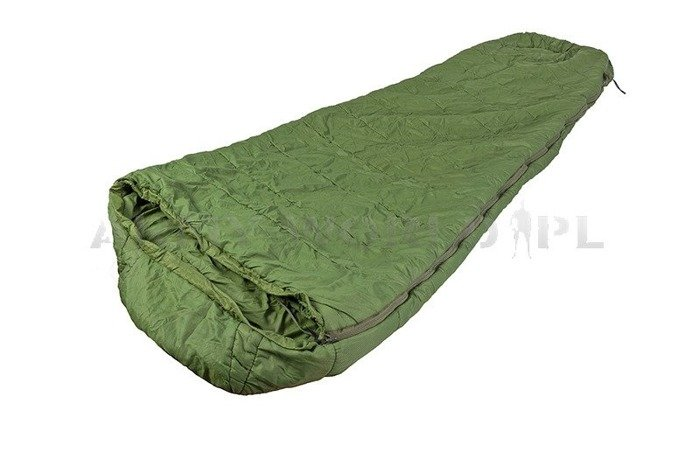 Military British Sleeping Bag Discovery Mummy Type Snugpak Oliv Original Demobil