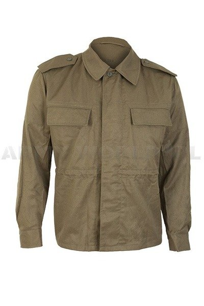 Military Czech Field Shirt Oliv Original Demobil Set of 10 Pieces