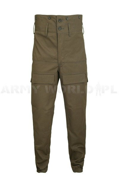 Military Czech Trousers Model M85 Oliv Original Set Of 10 Pieces