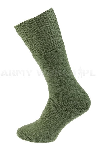 Military Dutch Woolen Socks Green Original New