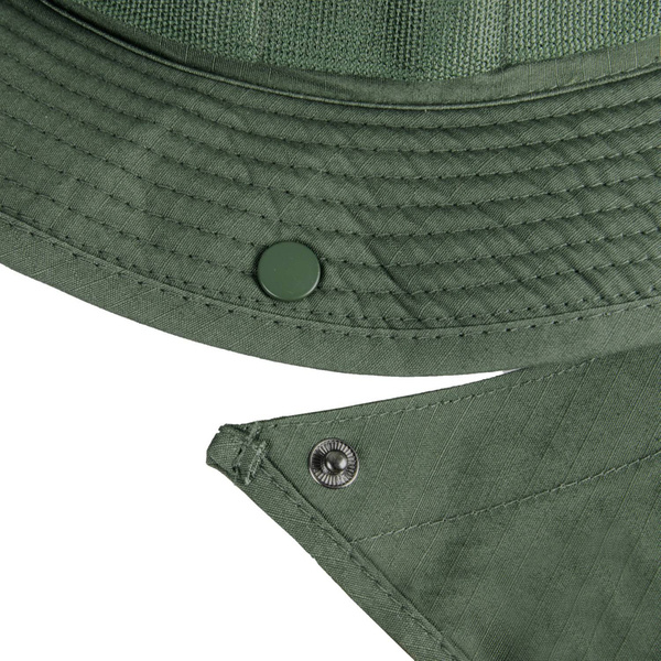 "Military Hat  ""Boonie Hat"" - Nyco Ripstop - Helikon-Tex Oliv Drab"