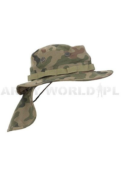 Military Hat Wz.93 PL Camo Ripstop All Year Round Version New