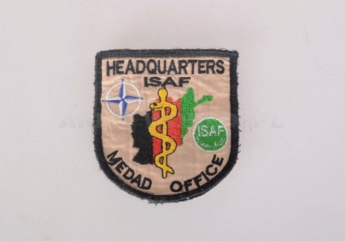 Military ISAF Patch Afghanistan Original Used