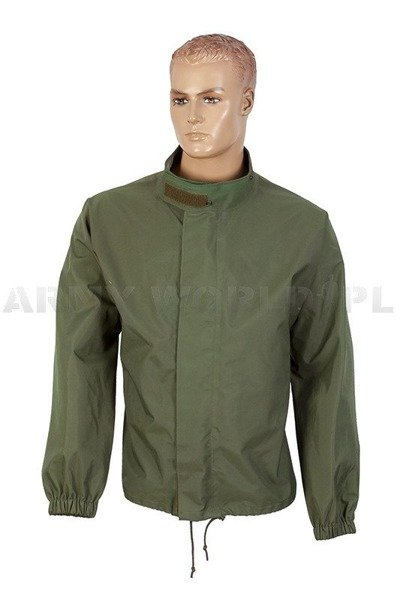 Military Jacket Waterproof Gore-tex Oliv Austrian Demobil