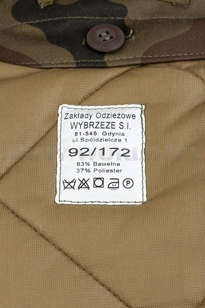 Military Polish Jacket With Liner 130/MON Original New
