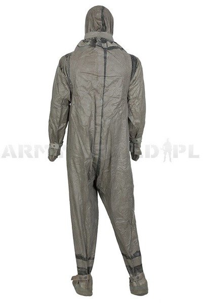 Military Rubber Coverall OP1 Rainproof Original New