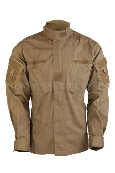 Military Shirt Model ACU Coyote Tessar New