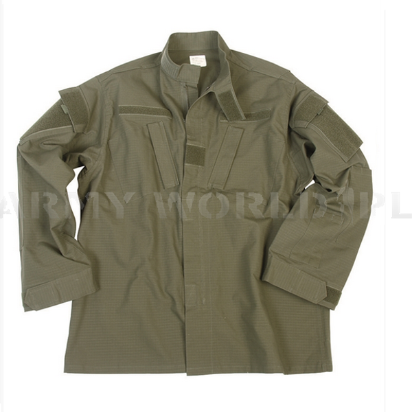 Military Shirt Model ACU Oliv Tessar New