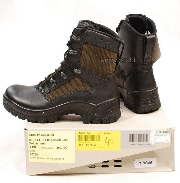 Military Shoes Jungle Boots Haix® New II Quality